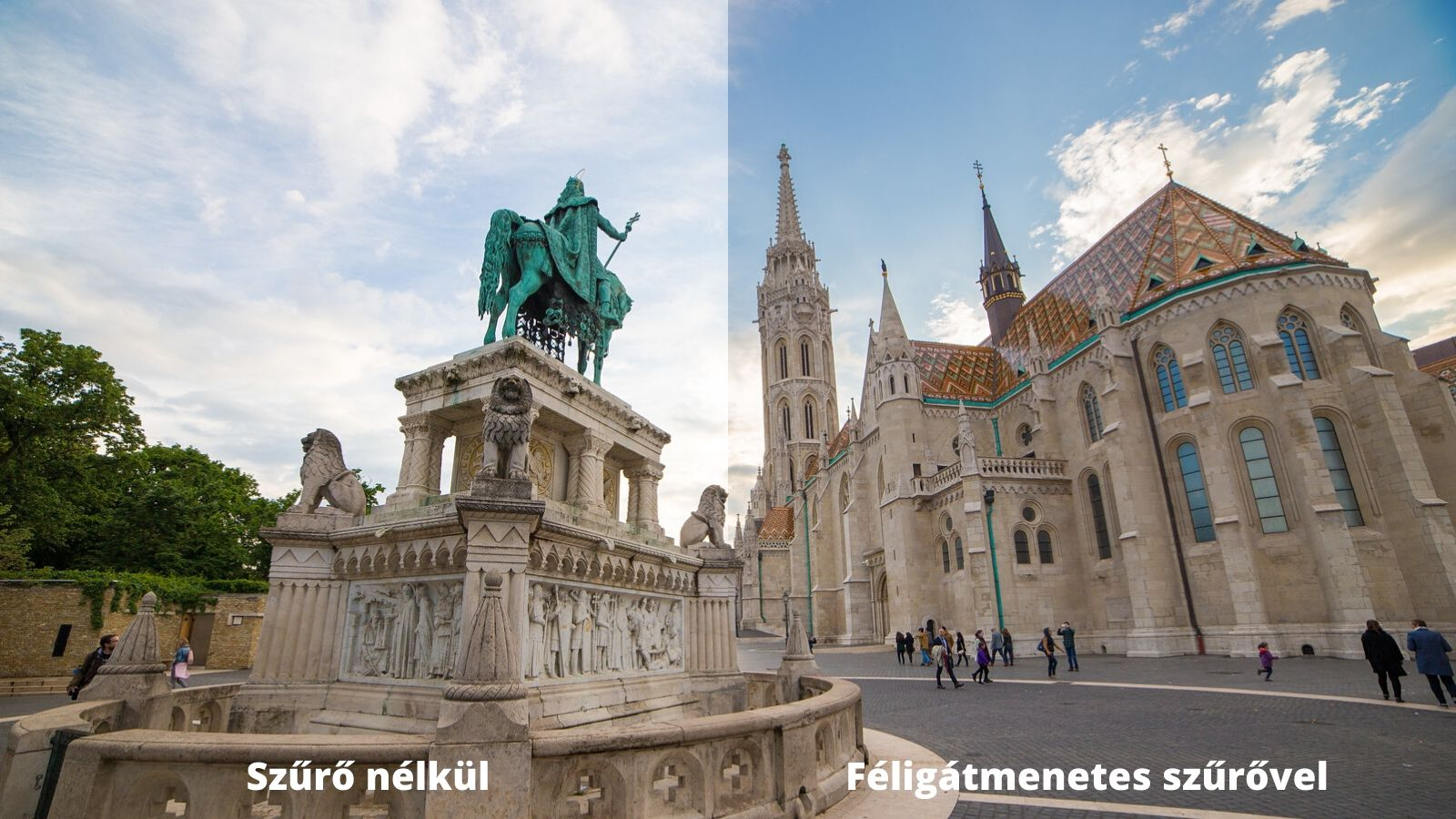 Lightroom féligátmenetes szűrő